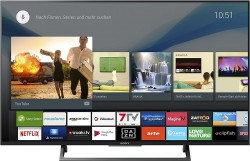 Smart TV: Sony KD-49XE8005